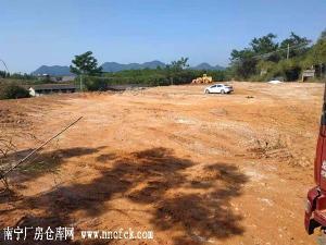 南宁市武鸣区往马山210国道旁30亩工业用地和两个仓库招租