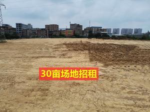 江南区五一路华南城附近多块5亩~60亩场地和2000平米厂房招租,位置好